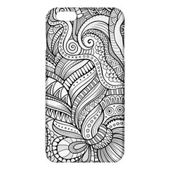 Zentangle Art Patterns Iphone 6 Plus/6s Plus Tpu Case by Amaryn4rt