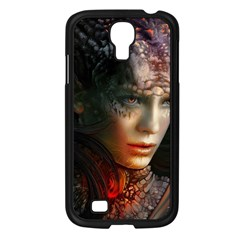 Digital Fantasy Girl Art Samsung Galaxy S4 I9500/ I9505 Case (black) by Onesevenart