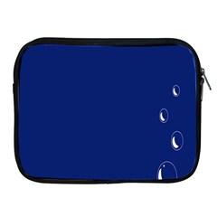 Bubbles Circle Blue Apple Ipad 2/3/4 Zipper Cases by Alisyart