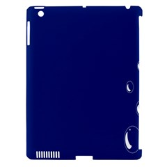 Bubbles Circle Blue Apple Ipad 3/4 Hardshell Case (compatible With Smart Cover) by Alisyart