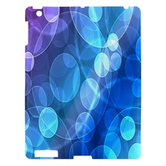 Circle Blue Purple Apple Ipad 3/4 Hardshell Case by Alisyart