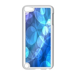 Circle Blue Purple Apple iPod Touch 5 Case (White) by Alisyart