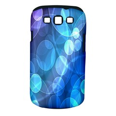 Circle Blue Purple Samsung Galaxy S Iii Classic Hardshell Case (pc+silicone) by Alisyart