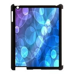 Circle Blue Purple Apple Ipad 3/4 Case (black) by Alisyart