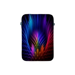 Bird Feathers Rainbow Color Pink Purple Blue Orange Gold Apple Ipad Mini Protective Soft Cases by Alisyart