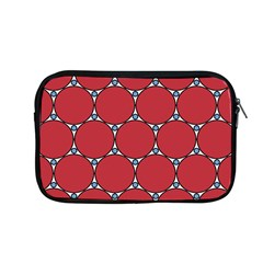 Circle Red Purple Apple Macbook Pro 13  Zipper Case by Alisyart