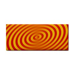 Circle Line Orange Hole Hypnotism Cosmetic Storage Cases by Alisyart
