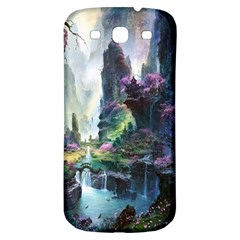Fantastic World Fantasy Painting Samsung Galaxy S3 S Iii Classic Hardshell Back Case by Onesevenart