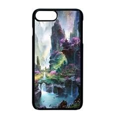 Fantastic World Fantasy Painting Apple Iphone 7 Plus Seamless Case (black) by Onesevenart
