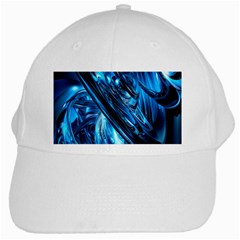 Blue Wave White Cap by Alisyart