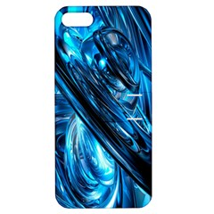 Blue Wave Apple Iphone 5 Hardshell Case With Stand by Alisyart