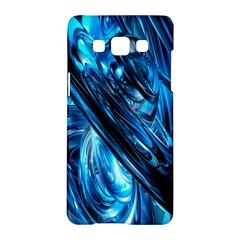 Blue Wave Samsung Galaxy A5 Hardshell Case  by Alisyart