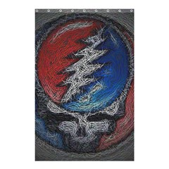 Grateful Dead Logo Shower Curtain 48  X 72  (small)  by Onesevenart