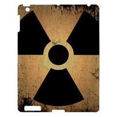 Radioactive Warning Signs Hazard Apple Ipad 3/4 Hardshell Case by Onesevenart