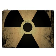 Radioactive Warning Signs Hazard Cosmetic Bag (xxl)  by Onesevenart