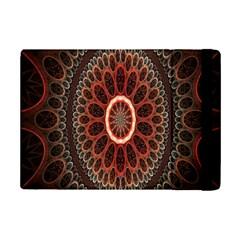 Circles Shapes Psychedelic Symmetry iPad Mini 2 Flip Cases by Alisyart