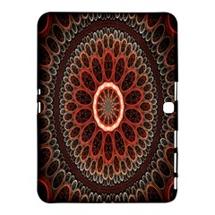Circles Shapes Psychedelic Symmetry Samsung Galaxy Tab 4 (10 1 ) Hardshell Case  by Alisyart