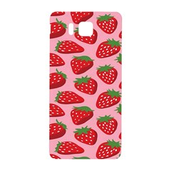 Fruitb Red Strawberries Samsung Galaxy Alpha Hardshell Back Case by Alisyart