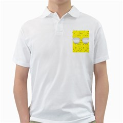 Glasses Yellow Golf Shirts