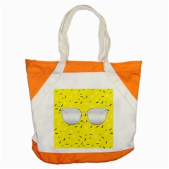 Glasses Yellow Accent Tote Bag