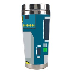 Amphisbaena Two Platform Dtn Node Vector File Stainless Steel Travel Tumblers by Onesevenart