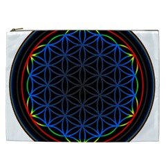 Flower Of Life Cosmetic Bag (xxl)  by Onesevenart