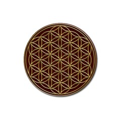 Flower Of Life Magnet 3  (round)