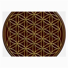 Flower Of Life Large Glasses Cloth by Onesevenart