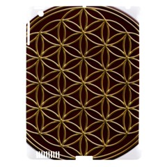 Flower Of Life Apple Ipad 3/4 Hardshell Case (compatible With Smart Cover) by Onesevenart