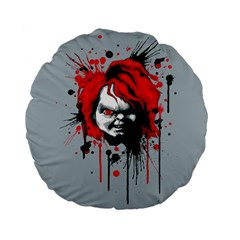 Good Guys Standard 15  Premium Flano Round Cushions by lvbart