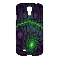 Light Cells Colorful Space Greeen Samsung Galaxy S4 I9500/I9505 Hardshell Case