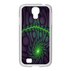 Light Cells Colorful Space Greeen Samsung Galaxy S4 I9500/ I9505 Case (white) by Alisyart