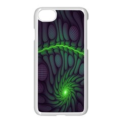 Light Cells Colorful Space Greeen Apple Iphone 7 Seamless Case (white) by Alisyart