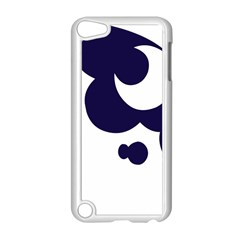 Month Blue Apple Ipod Touch 5 Case (white) by Alisyart