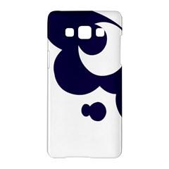 Month Blue Samsung Galaxy A5 Hardshell Case  by Alisyart