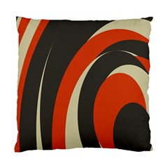 Mixing Gray Orange Circles Standard Cushion Case (one Side) by Alisyart