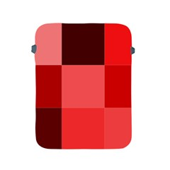 Red Flag Plaid Apple iPad 2/3/4 Protective Soft Cases