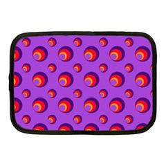 Scatter Shapes Large Circle Red Orange Yellow Circles Bright Netbook Case (medium)  by Alisyart