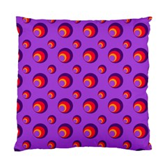 Scatter Shapes Large Circle Red Orange Yellow Circles Bright Standard Cushion Case (two Sides) by Alisyart