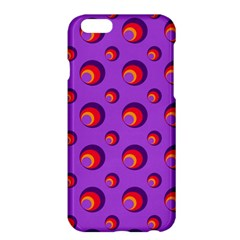 Scatter Shapes Large Circle Red Orange Yellow Circles Bright Apple Iphone 6 Plus/6s Plus Hardshell Case
