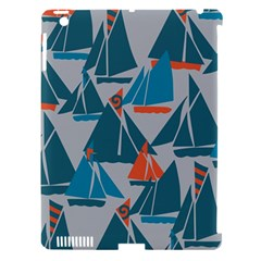 Ship Sea Blue Apple Ipad 3/4 Hardshell Case (compatible With Smart Cover) by Alisyart