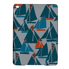 Ship Sea Blue Ipad Air 2 Hardshell Cases by Alisyart