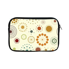Seamless Floral Flower Orange Red Green Blue Circle Apple Ipad Mini Zipper Cases by Alisyart
