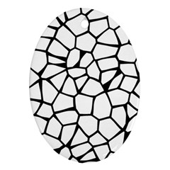 Seamless Cobblestone Texture Specular Opengameart Black White Oval Ornament (two Sides) by Alisyart