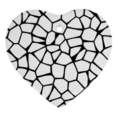 Seamless Cobblestone Texture Specular Opengameart Black White Heart Ornament (two Sides) by Alisyart