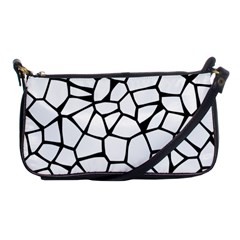 Seamless Cobblestone Texture Specular Opengameart Black White Shoulder Clutch Bags by Alisyart