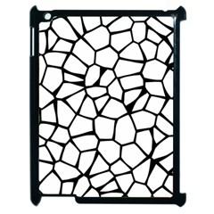 Seamless Cobblestone Texture Specular Opengameart Black White Apple Ipad 2 Case (black) by Alisyart
