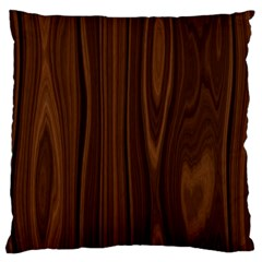 Texture Seamless Wood Brown Large Cushion Case (one Side) by Alisyart