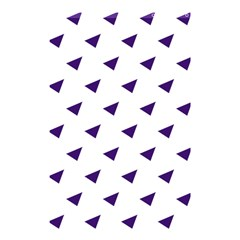 Triangle Purple Blue White Shower Curtain 48  X 72  (small)  by Alisyart