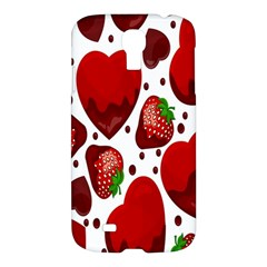 Strawberry Hearts Cocolate Love Valentine Pink Fruit Red Samsung Galaxy S4 I9500/i9505 Hardshell Case